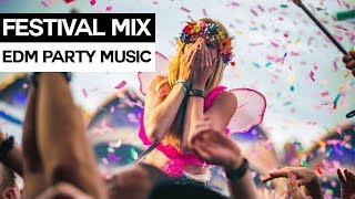 EDM FESTIVAL MIX - Electro House & Dance Party Music 2017