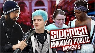 SIDEMEN: BEING AWKWARD IN PUBLIC!