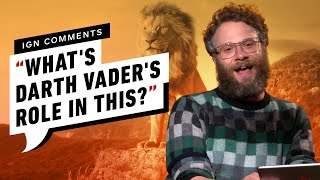 Seth Rogen and The Lion King Cast Respond to IGN Comments