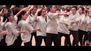 Flashmob Lớp 11A18 (Năm học 2016 - 2017).