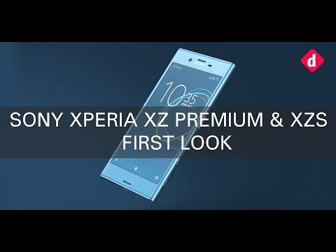 Sony Xperia XZ Premium  Xperia XZs First Look  Digitin