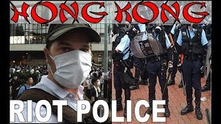 HONG KONG PROTEST RIOT POLICE, TEAR GAS, EXTRADITION LAW....ABSOLUTE CARNAGE!