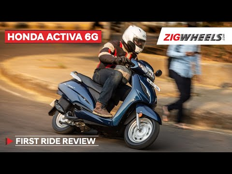 Honda Activa 6G First Look Video | India's Favourite Scooter Now Overhauled!