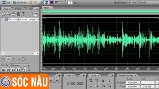 Cách cắt ghép nhạc mp3