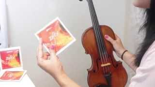 How I Change My Violin Strings + Tips + Tuning