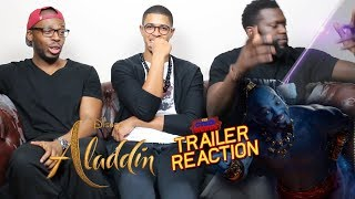 Aladdin Special Look Trailer Reaction