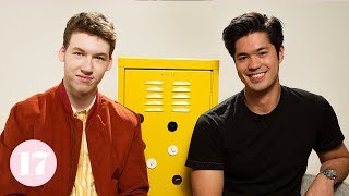 Fan Theories With Devin Druid & Ross Butler From '13 Reasons Why' | Seventeen