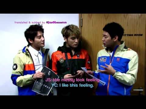 [Eng sub] 2014 Happy Valentine's day from JYJ