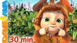 👩🌾 Old MacDonald Had a Farm, Wheels on the Bus and More Nursery Rhymes | Dave and Ava 👨🌾