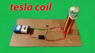 "Make a mini ""Tesla coil"" (Easy to make)"