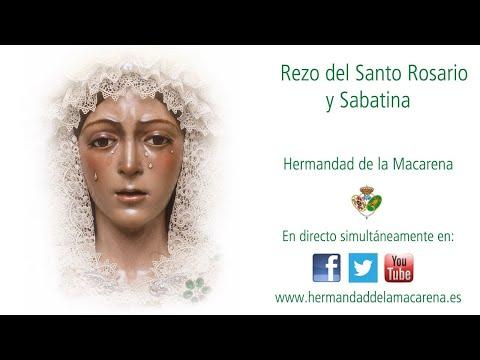 Rezo del Santo Rosario y Sabatina - Hermandad de la Macarena -
