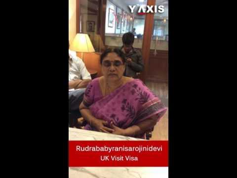 Kalagara Rudrababyranisarojinidevi UK Visit Visa PC Jyothi