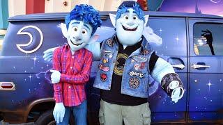 "Ian & Barley from Disney Pixar ""Onward"" Meet & Greet at Disney California Adventure, Disneyland"