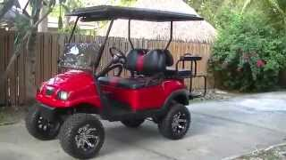 Club Car Precedent Phantom Lifted Golf Cart (Overview)