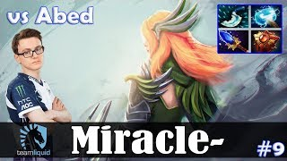 Miracle - Windranger MID | vs Abed (Templar Assassin) | Dota 2 Pro MMR Gameplay #9