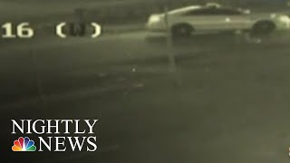 School District Police Officer Hit And Run Caught On Camera | NBC Nightly News