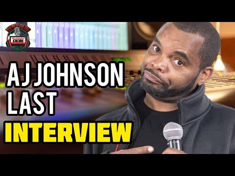 "AJ ""Ezel Johnson's Final Interview On Hip Hop Uncensored"