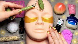 ASMR Skincare on Mannequin (Whispered)