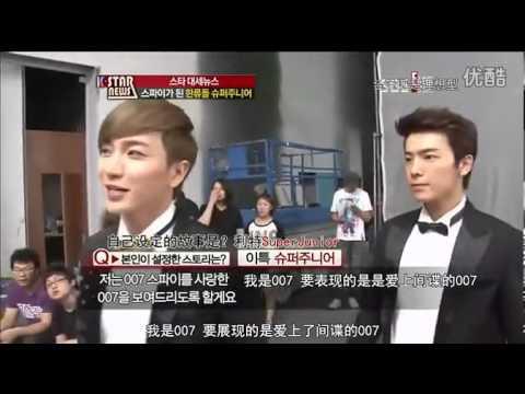 120903 【中字】K-Star News Super Junior《SPY》MV花絮