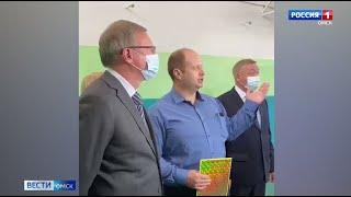 Губернатор Омской области посетил Павлоградский район