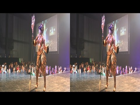 (3D) Cosplay Lineage II, Dark Elf