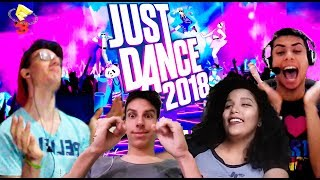 JUST DANCE 2018 REACTION #UbiE3