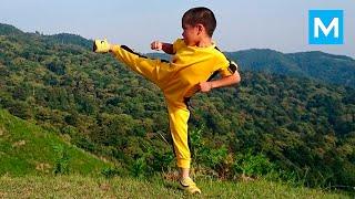 BRUS LI JE ŽIV: Šestogodišnje ČUDO OD DETETA reinkarnacija legende borilačkih veština! (VIDEO)