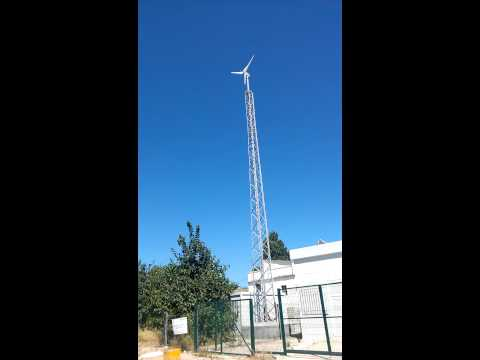 Anelion Small Wind Turbine SW3.5-GT at Politechnic University of Valencia