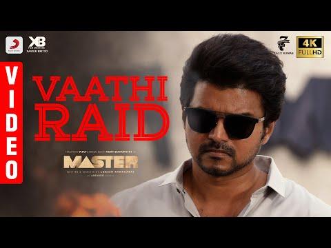 Master- Vaathi raid video- Thalapathy Vijay