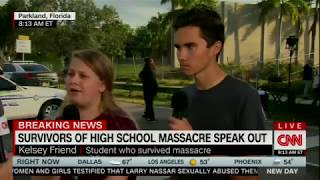 Alisyn Camerota interviews Stoneman Douglas High School students