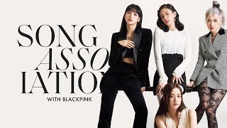 """BLACKPINK Sings Dua Lipa, Taylor Swift, and """"Kill This Love"""" in a Game of Song Association 
