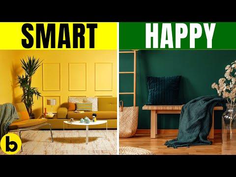 Дали сте креативни, комуникативни или генијалци - што откриваат боите во домот за вас?