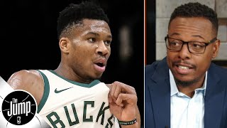 The NBA should be scared of Giannis Antetokounmpo and the Bucks - Paul Pierce | The Jump