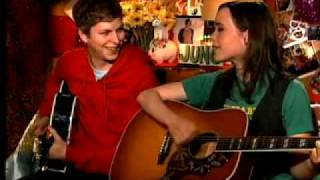 Ellen Page and Michael Cera sing a song about Diablo Cody