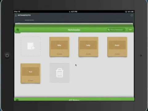 Using Evernote for education
