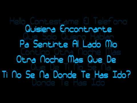 Contestame El Telefono - Alexis Y Fido Ft. Flex - YMP (Official Lyrics) HD