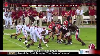 2008 #8 Alabama vs. #3 Georgia (HD)
