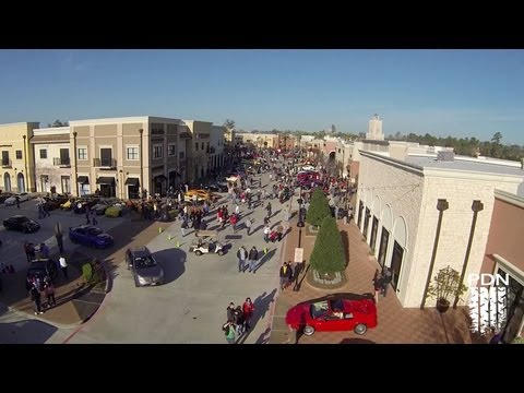 Coffee and Cars - Aerial View - February 2013