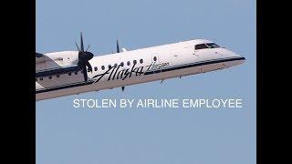 STOLEN Horizon Air Q400 does BARREL ROLL | Full Footage