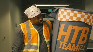 SEC Shorts - Tennessee's football building janitor is a busy man
