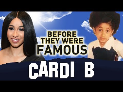 CARDI B - Before They Were Famous - BODAK YELLOW