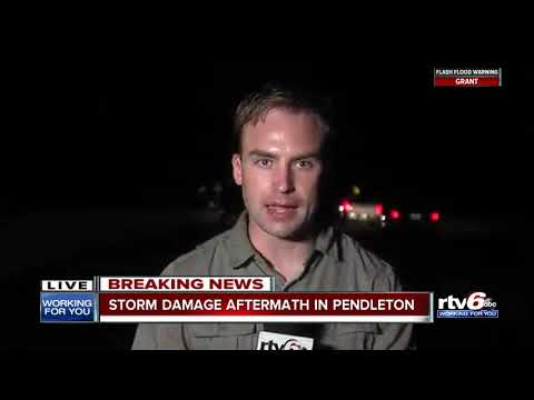 Pendleton heavily damaged by severe weather, tornado warnings
