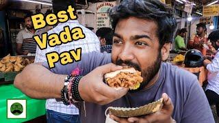 Mumbai's Best Vada Pav || Indian Street Food Series|| Veggiepaaji