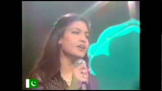 Nazia Hassan - Disco deewane (remix rare video)