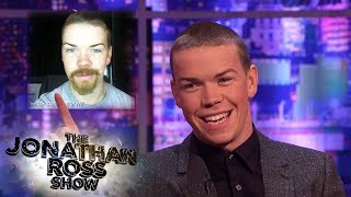 Will Poulter's Awestruck By Leonardo DiCaprio and Tom Hardy Facial Hair | The Jonathan Ross Show