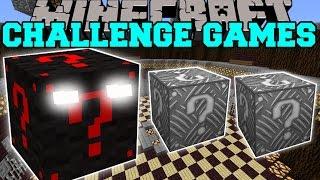 Minecraft: LUCKY BLOCK MONSTER CHALLENGE GAMES - Lucky Block Mod - Modded Mini-Game