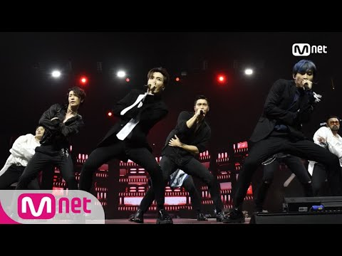 [KCON 2018 NY] SUPER JUNIOR - INTRO + Black SuitㅣKCON 2018 NY x M COUNTDOWN 180705 EP.577