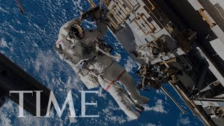 The First All-Women Spacewalk Is Happening Now | LIVE | TIME
