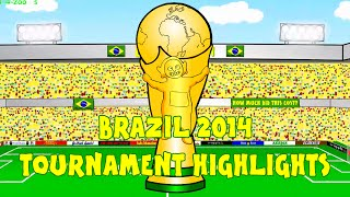 WORLD CUP 2014 HIGHLIGHTS by 442oons (Brazil 2014 World Cup Review Compilation Clips)