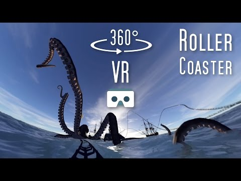 360 VR Roller Coaster: Virtual Reality scary 360 video for Cardboard & Samsung Gear VR by OniricFlow VR